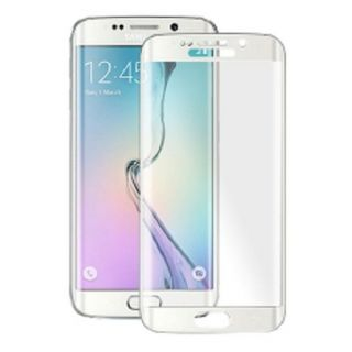 Fullcover Tempered Glass for Samsung Galaxy S6 Edge Plus SM-G928F - White
