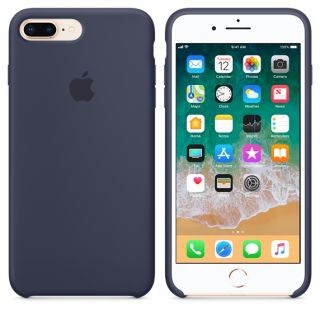 iPhone 8 Plus / 7 Plus Silicone Case - Midnight Blue (mqgy2zm/a)