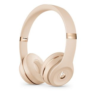 BEATS SOLO 3 WIRELESS HEADPHONES SATIN GOLD