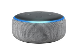 AMAZON ECHO DOT (3RD GENERATION) WIRELESS HOME SPEAKERS HEATHER GRAY (EU ADAPTER)