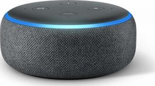 AMAZON ECHO DOT (3RD GENERATION) WIRELESS HOME SPEAKERS CHARCOAL (EU ADAPTER)