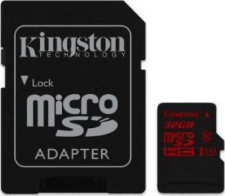 Kingston - flash memory card - 32 GB - microSDHC UHS-I  SDCA3/32GB