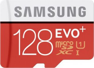 Samsung EVO Plus 128GB MicroSDXC Card with Adapter