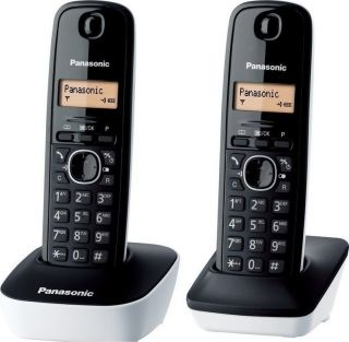 PANASONIC KX-TG1612 (W) DUO BLACK/WHITE EU