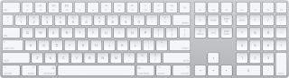 Apple Magic Keyboard with Numeric Keypad MQ052 White