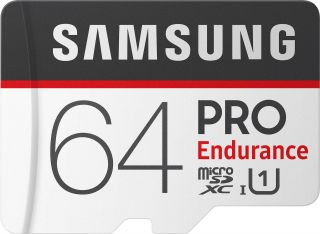 SAMSUNG PRO ENDURANCE MICROSDXC 64GB U1 WITH ADAPTER