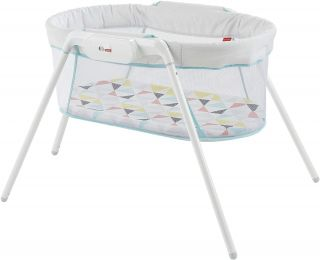 Fisher-Price GBR67 Stow and Go, Portable Bassinet with Calming Vibration 887961721133