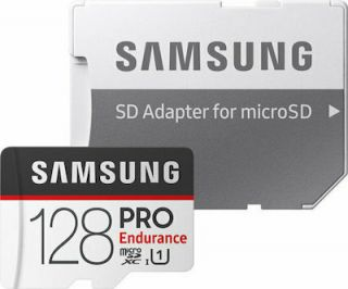 Samsung Pro Endurance microSDXC 128GB U1 with Adapter MB-MJ128GA/EU