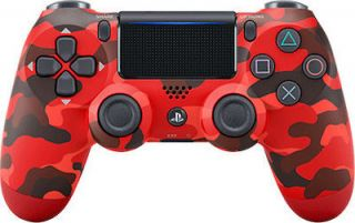 Sony DualShock 4 Controller V2 Red Camouflage CUH-ZCT2E