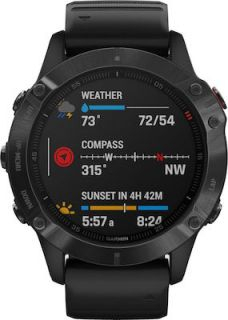 Garmin Fenix 6 Pro 47mm Black with Black Band 010-02158-02