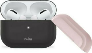 Puro Silicon Case Σκούρο Γκρι (For Apple AirPods Pro)