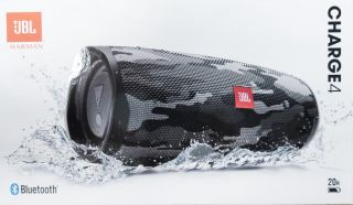 JBL Charge 4 Black/White Camouflage JBLCHARGE4BLKCAMO