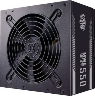 CoolerMaster MWE V2 550W Full Wired 80 Plus Bronze MPE-5501-ACAAB