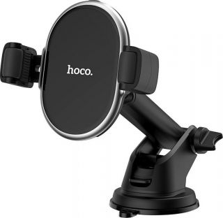 HOCO SELECTED car holder with wireless charger Rich power 10W S12