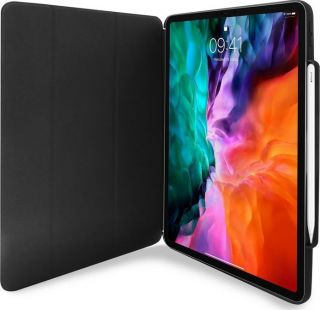 Puro Booklet Case 'Zeta Pro' for iPad Air 10.9' 2020 - iPad Pro 2018/2020 with mag+Stand+PenSlot BLK