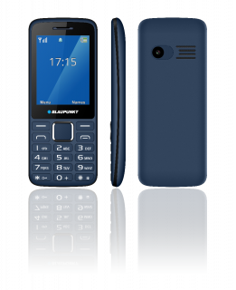 "BLAUPUNKT FM03 FEATURE PHONE 2.4"" MAZARINE"