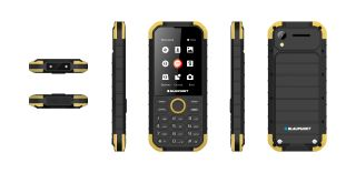 BLAUPUNKT SAND RUGGED PHONE YELLOW - BLACK