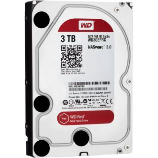 WD Red NAS Hard Drive WD30EFRX - hard drive - 3 TB - SATA 6Gb/s WD30EFRX