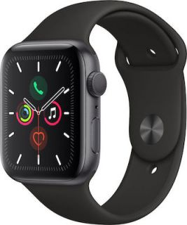 APPLE WATCH SERIES 5 STEEL CELLULAR 44MM (BLACK) MWWK2
